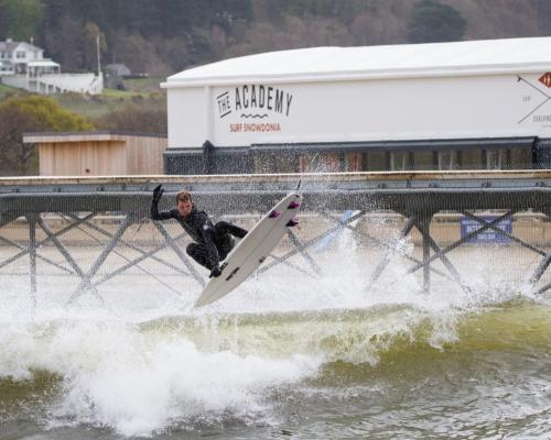 Rick Vlek Surf Snowdonia